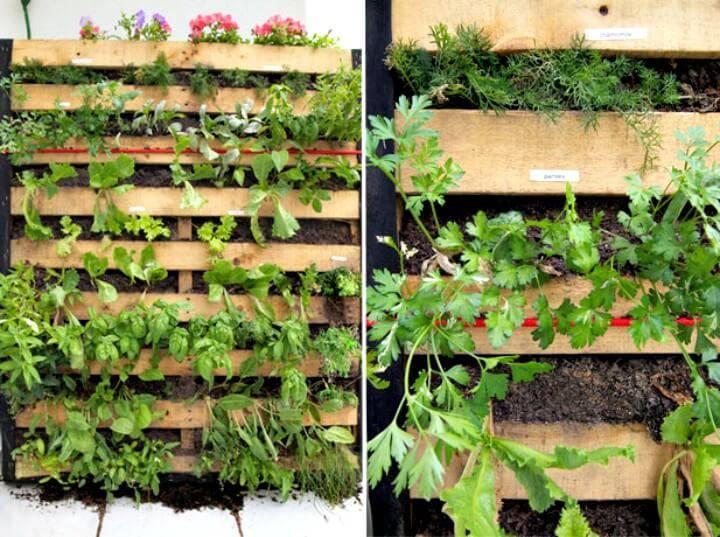 DIY A Pallet Garden Tutorial