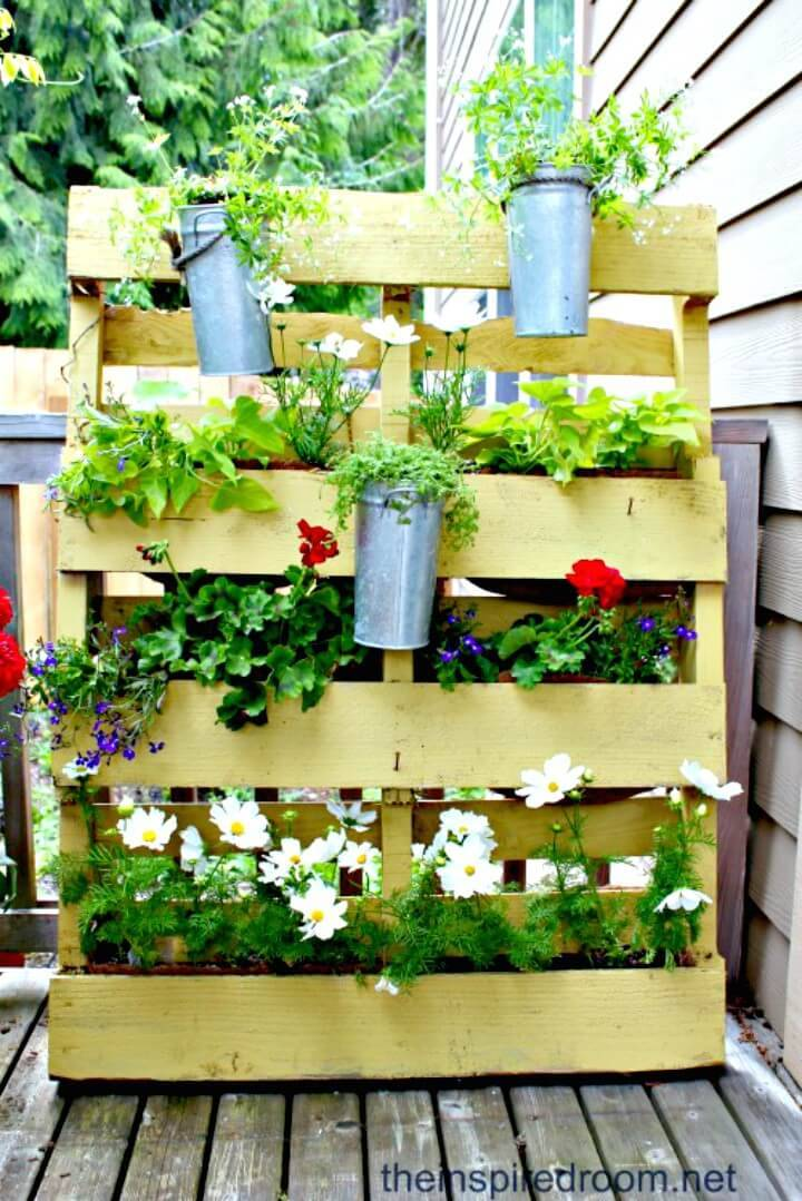 Build a Small Space Pallet Garden - DIY