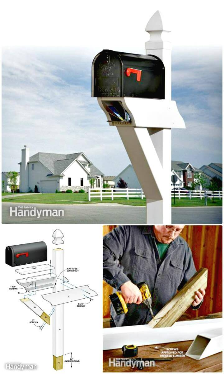 Build Your Own Low-Maintenance Mailbox - DIY