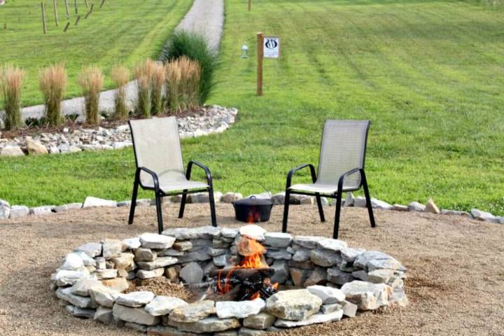 Build Your Own Stone Fire Pit for $117 - DIY