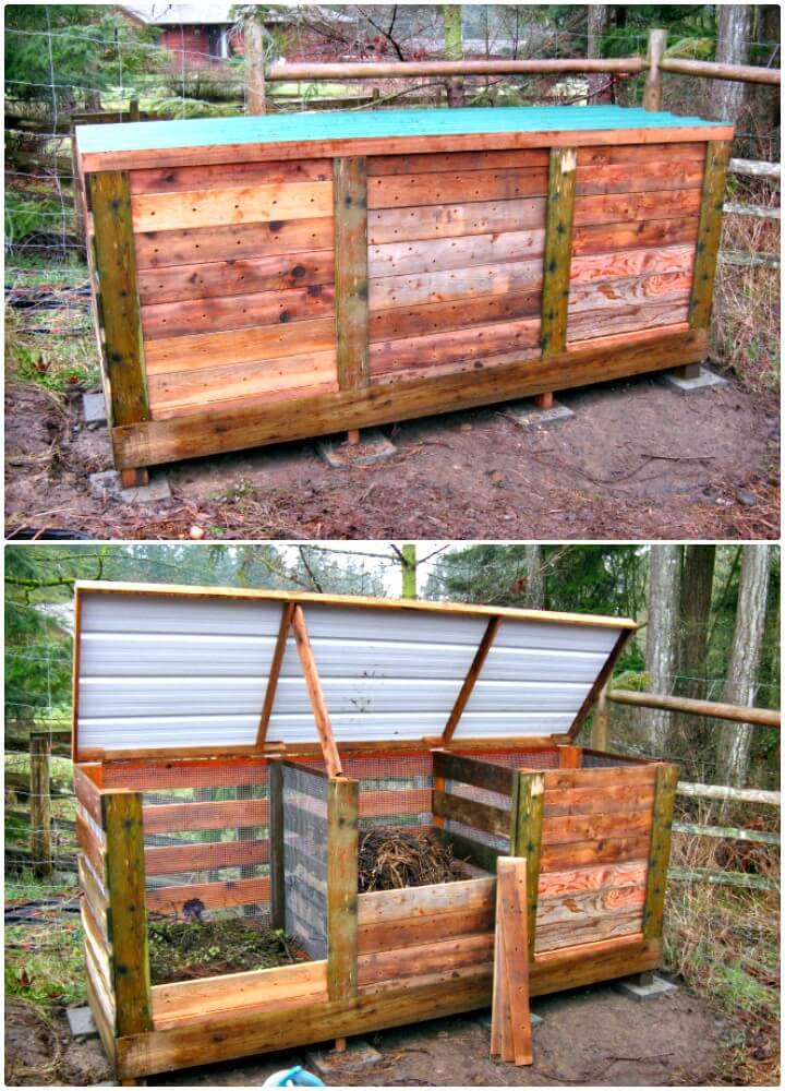 Build Your Own Ultimate Compost Bin -DIY