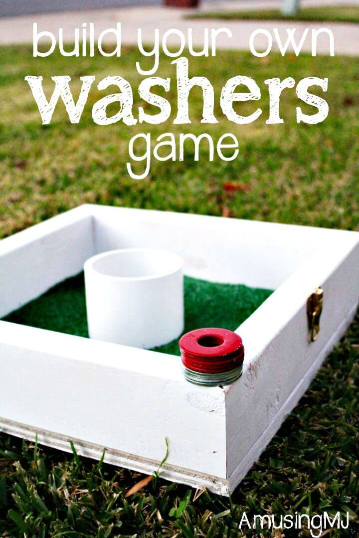 Build Your Own Washers Game Tutorial