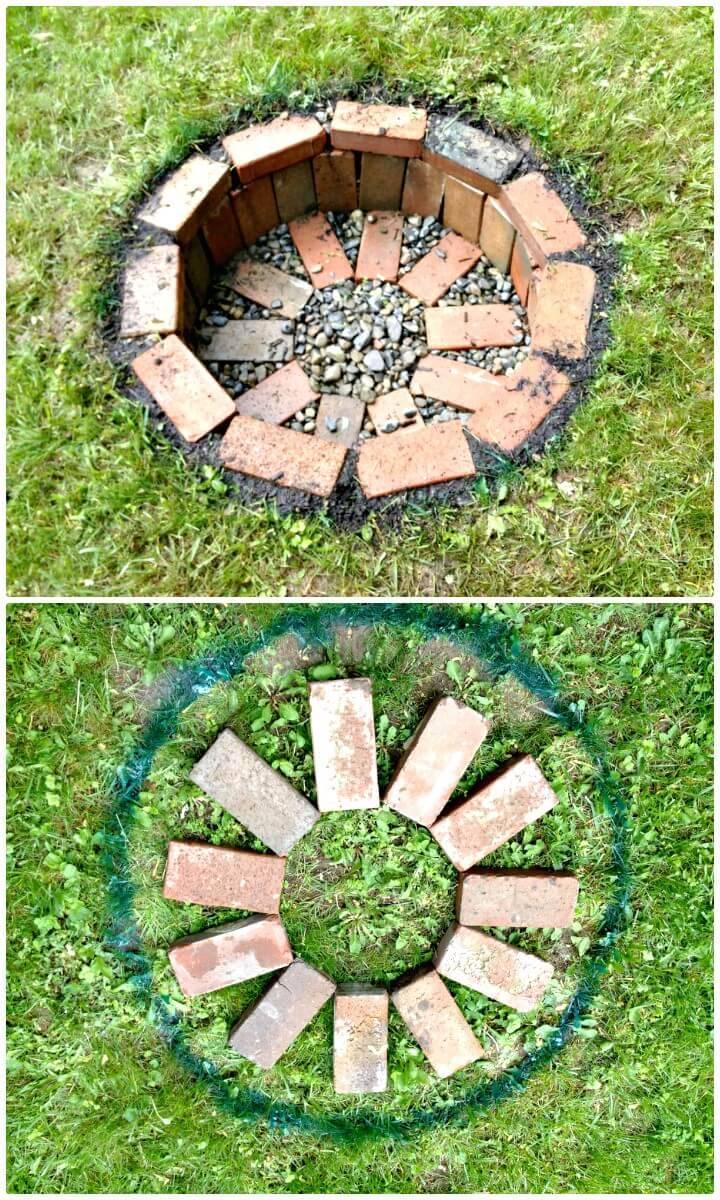 Build your own Fire Pit - DIY Backyard Ideas