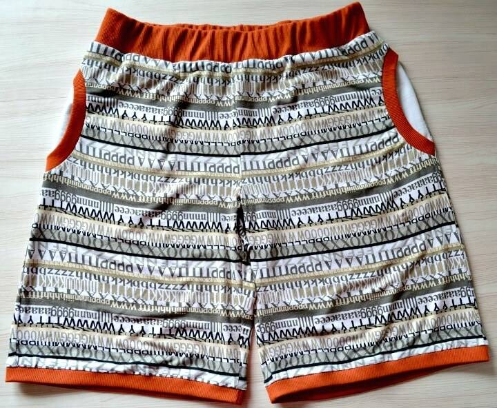 DIY Sew Jersey Women's Shorts