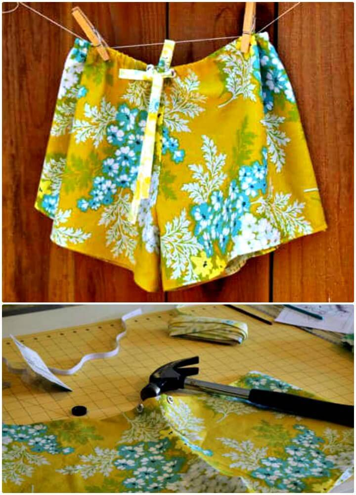 Cute DIY Sleep Shorts