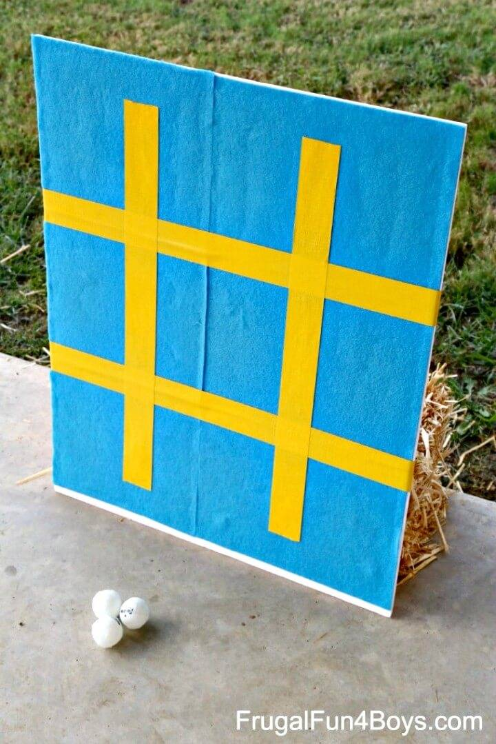 How to DIY Backyard Carnival Games For Kids