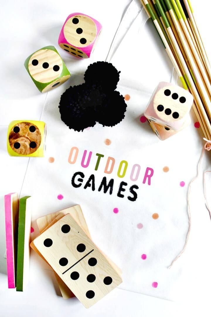 Beautiful DIY Bag Outdoor Games