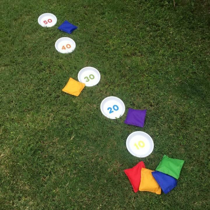How to Make Bean Bag - Toss Outdoor Games - DIY