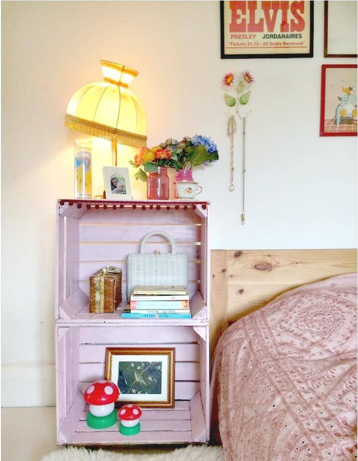 How to Build Crate Side Table Tutorial
