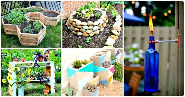 Beautiful DIY Garden Projects   101 DIY Ideas To Upgrade Your Garden   DIY Planter  Ideas