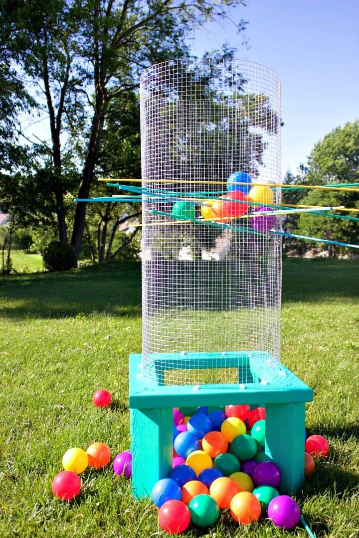 How to Make Giant Outdoor Kerplunk - DIY