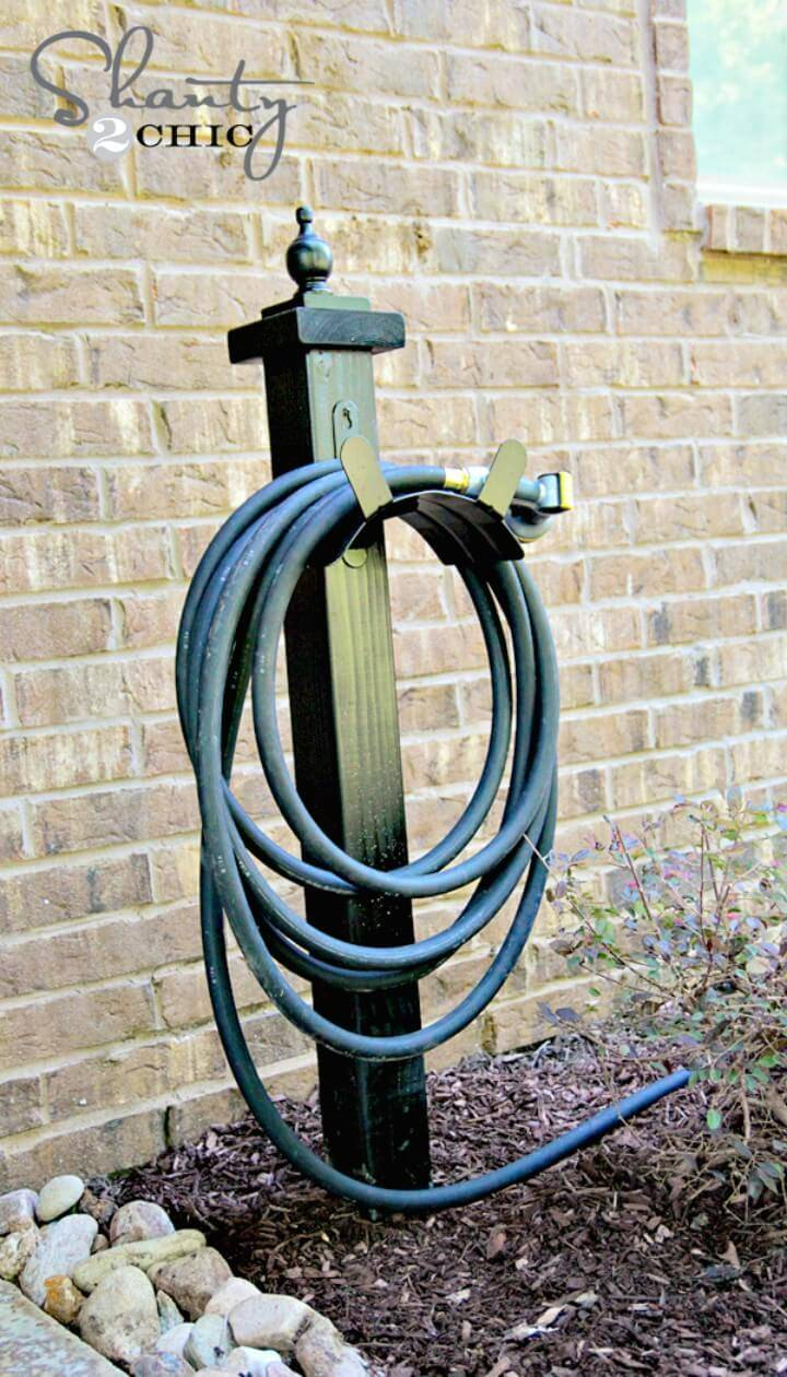 How to DIY Hose Holder for Your Backyard