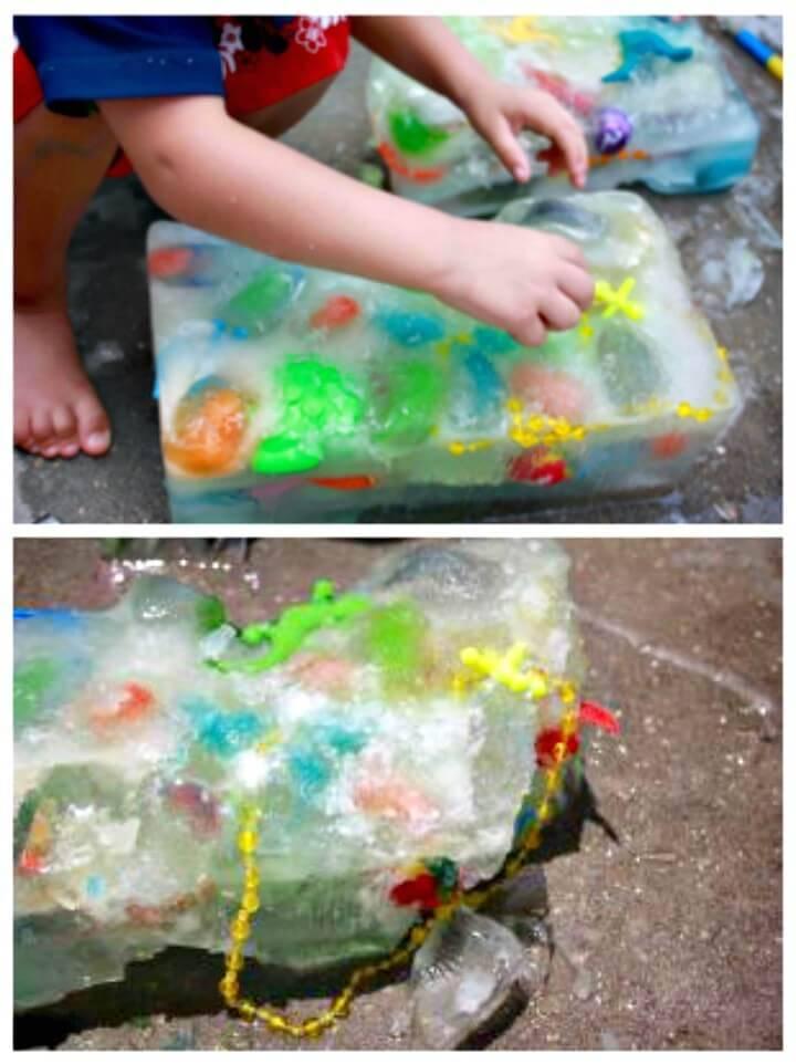 Cute DIY Ice Block Gmae For Kids