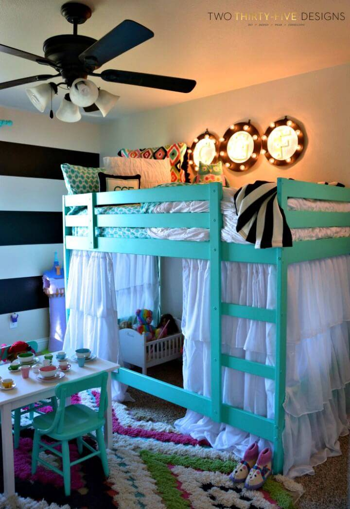 How to DIY Ikea Bunk Bed Hack