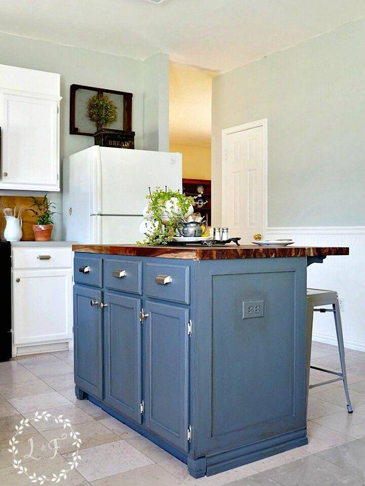 Easy DIY Kitchen Island Makeover