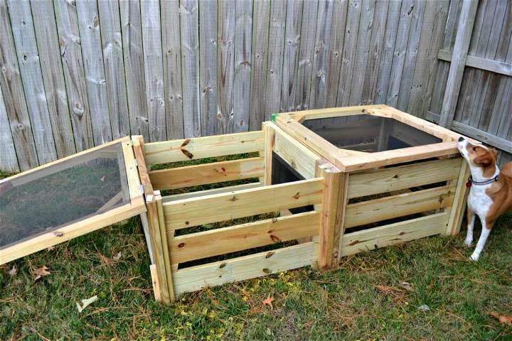 DIY Madeleine's Compost Bin