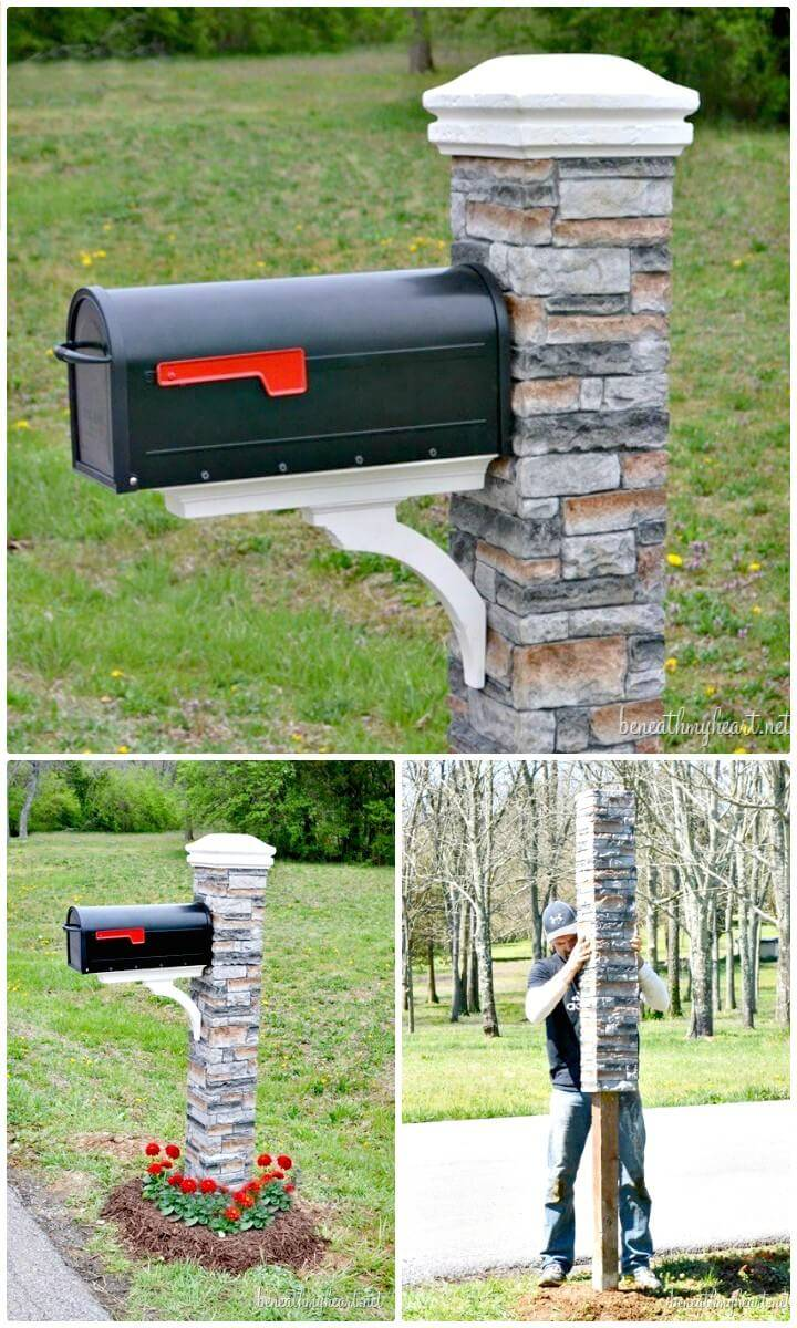 DIY Mailbox Backyard Makeover
