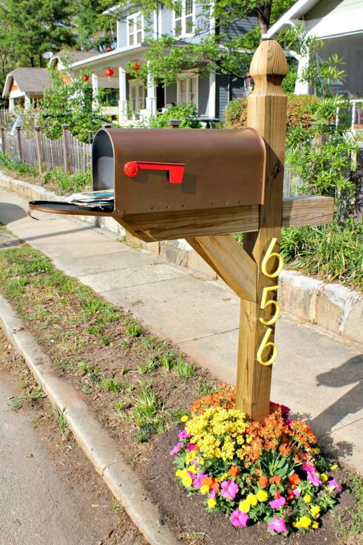 DIY Mailbox Garden and Makeover - Spring Garden Project