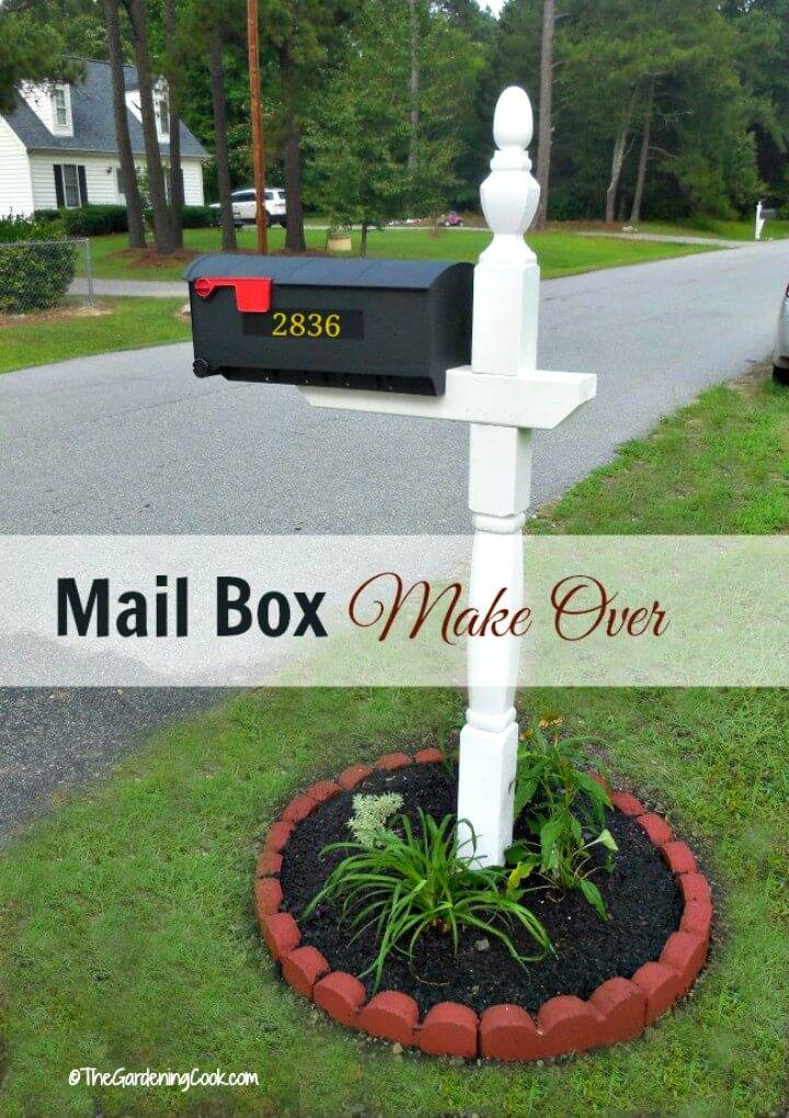 DIY Mailbox Makeover Tutorial