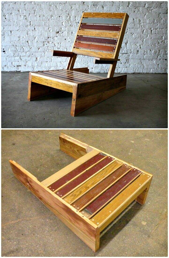 DIY Scrap Adirondack Chair - Garden Furniture Ideas
