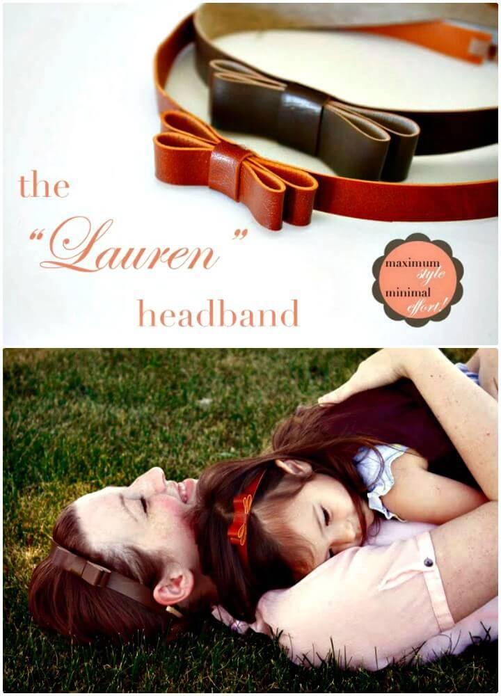 DIY The Lauren Headband Tutorial