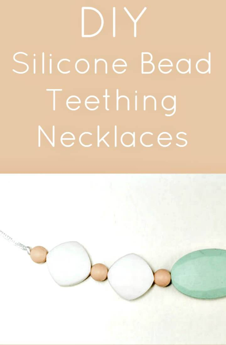 Easiest DIY Teething Necklace