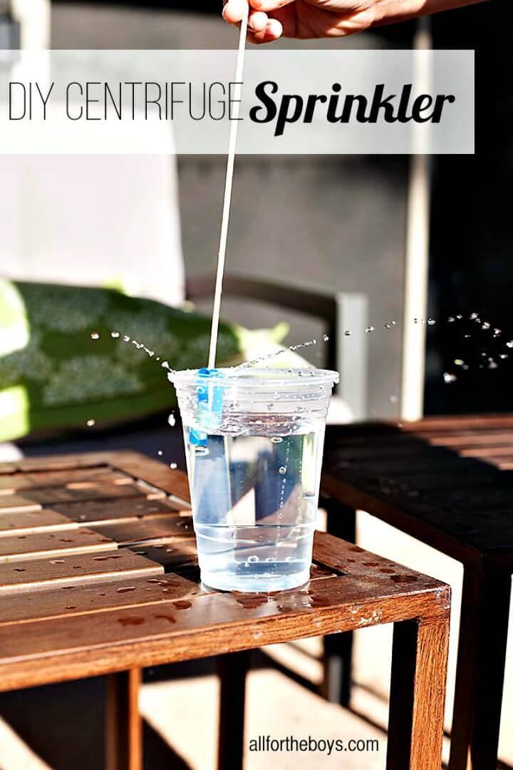 Easy DIY Centrifuge Sprinkler For Summer & Spring