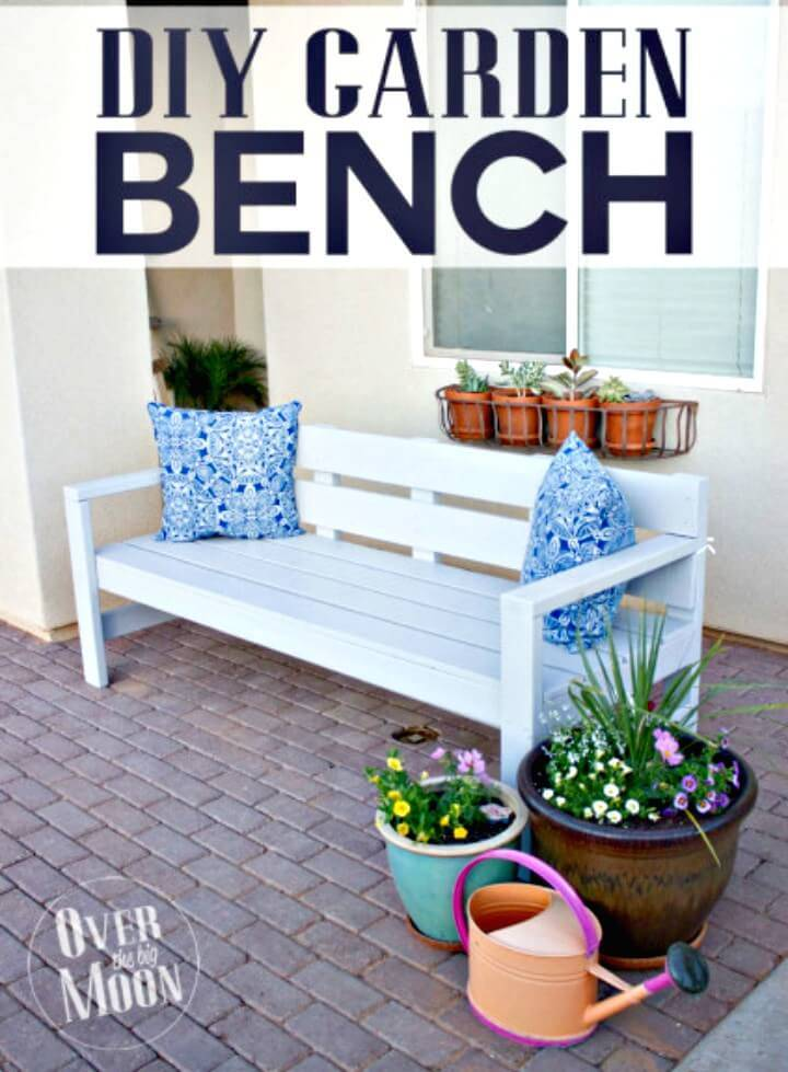 How to DIY Front Porch Bench