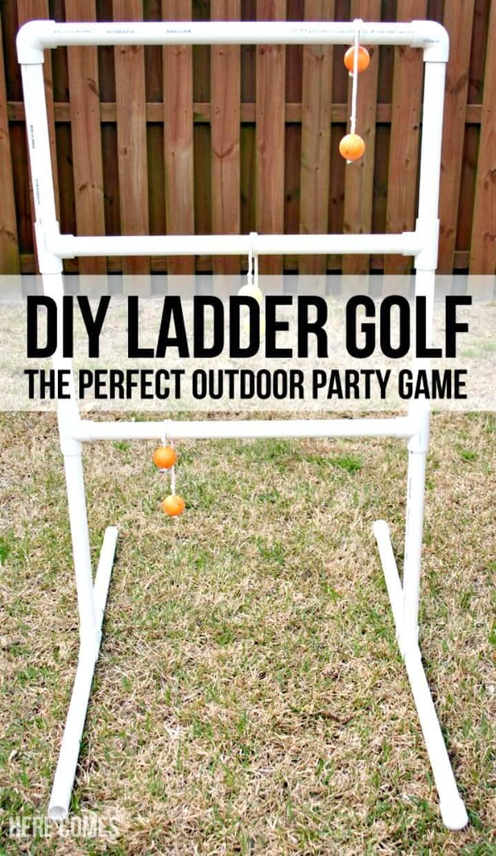 DIY Ladder Golf - Outdoor Games For Summer & Spring