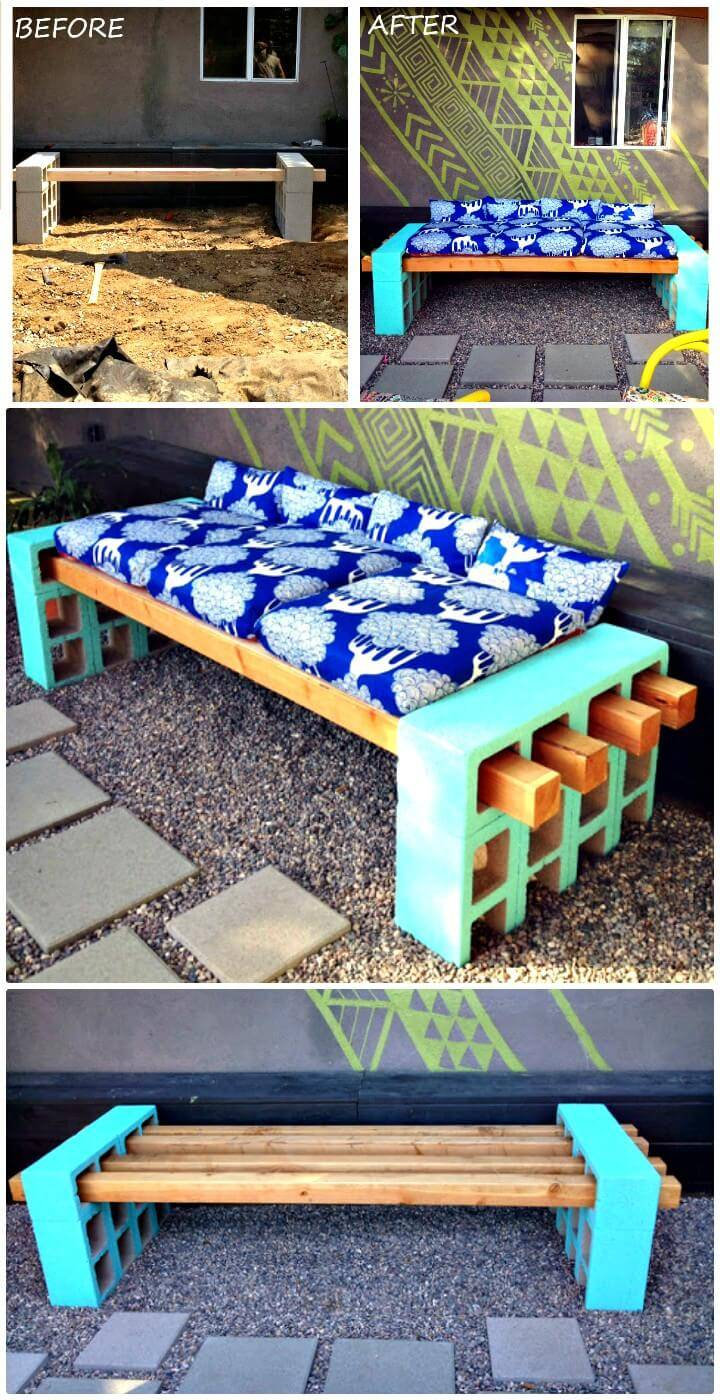DIY Outdoor Seating Plan for Backyard