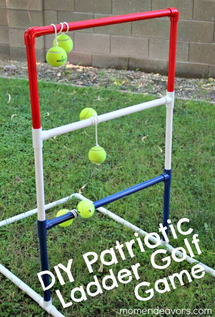 DIY Patriotic Ladder Golf Game Tutorial