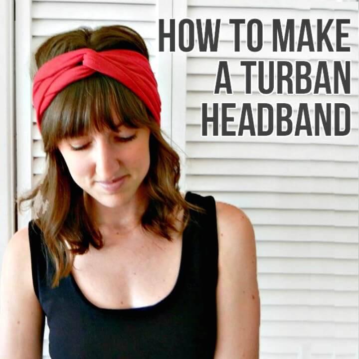 Easy DIY Turban Headband