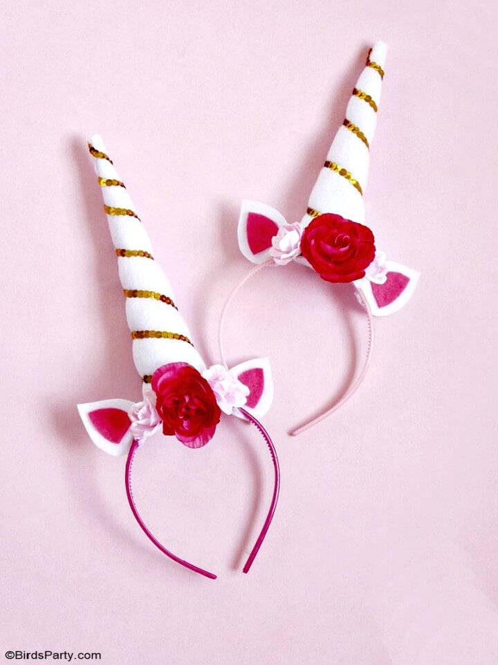 How to Make Unicorn Headband For Party - DIY
