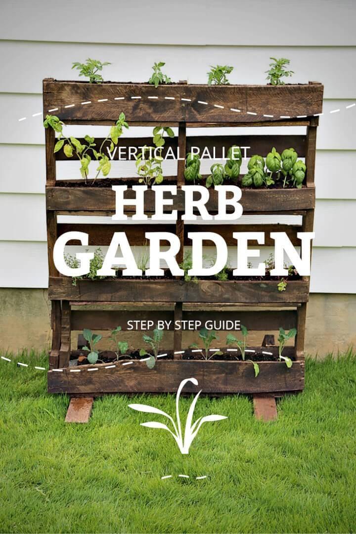 30 Diy Pallet Garden Projects To Update Your Gardens Diy Crafts