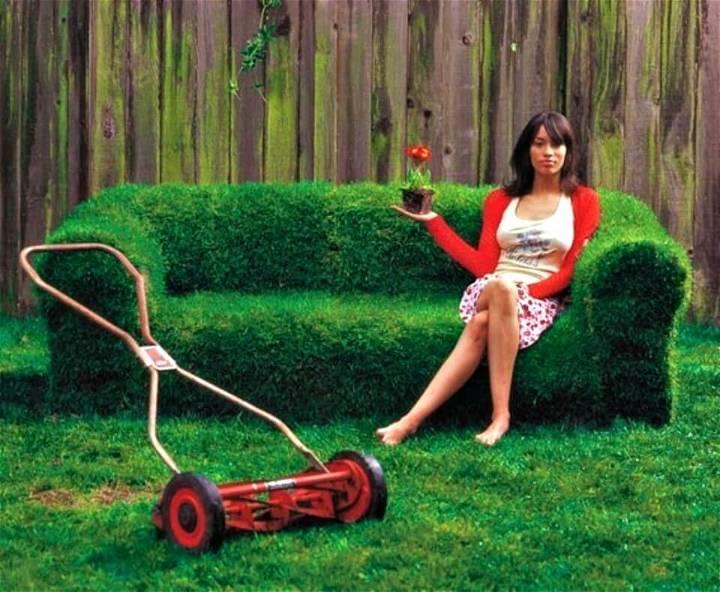 Easy How To Build Sprout a Sofa - DIY Backyard Ideas