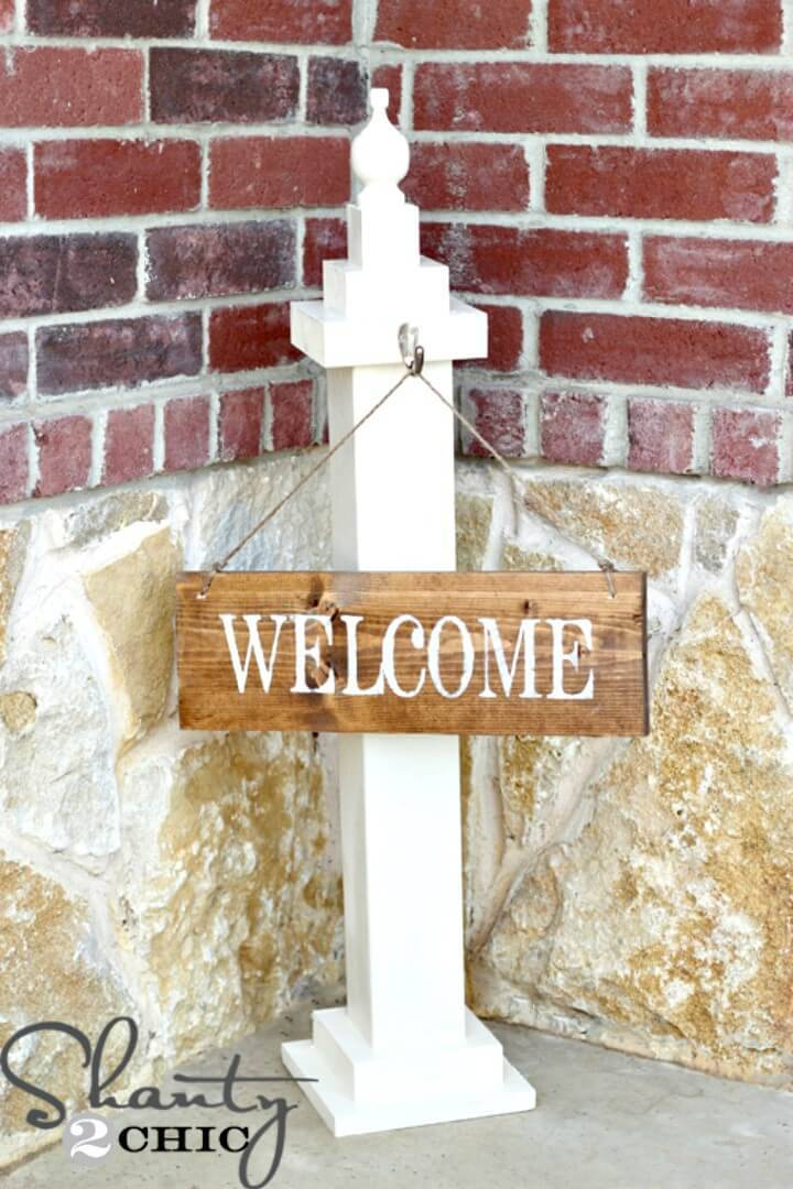 How To Make Welcome Sign For $30 - DIY