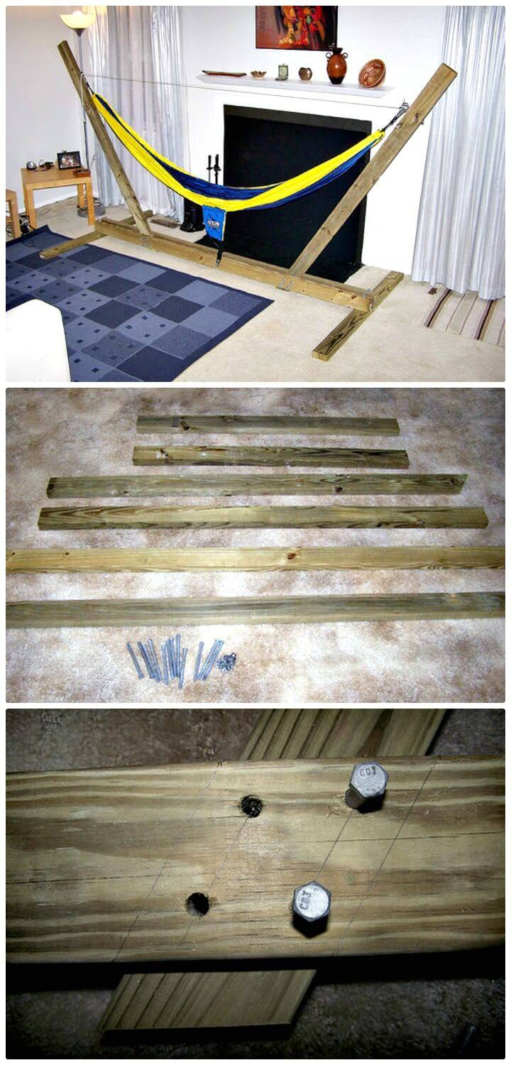 Easy DIY Hammock Stand Step by Step Tutorial