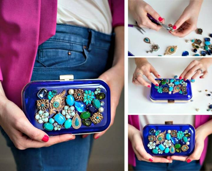 How to DIY Jewelry Box Clutch