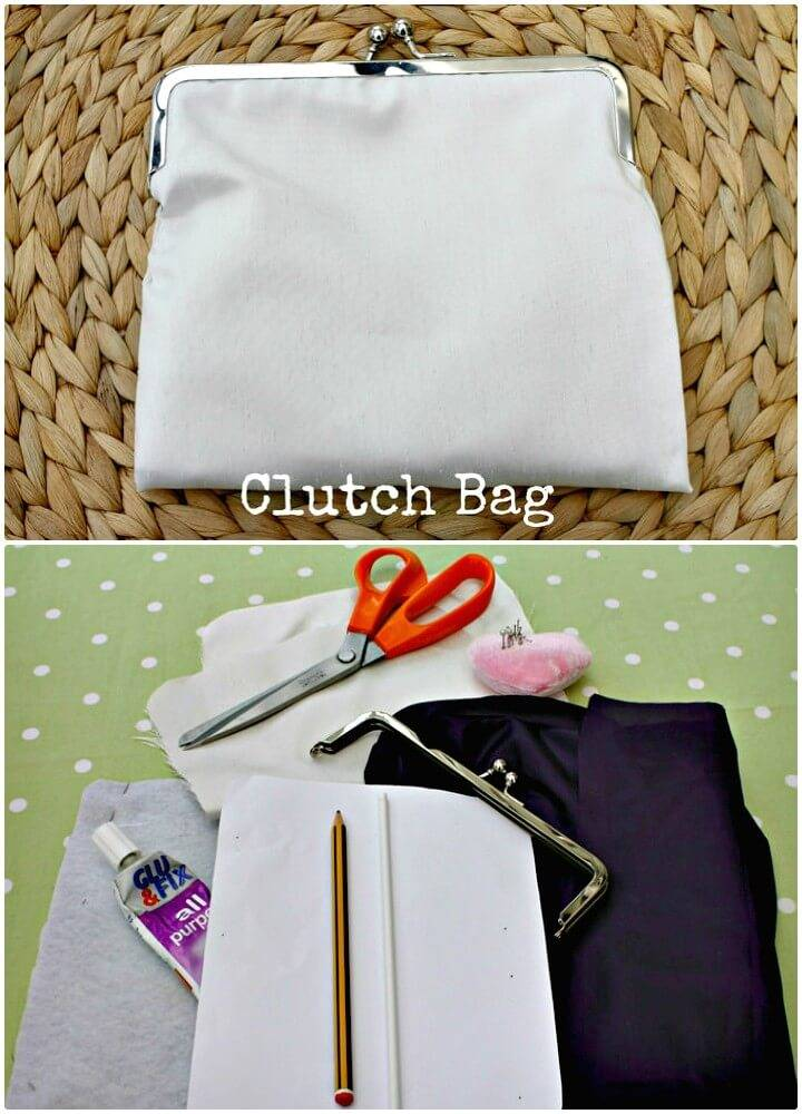 Gorgeous DIY Clutch Bag Tutorial