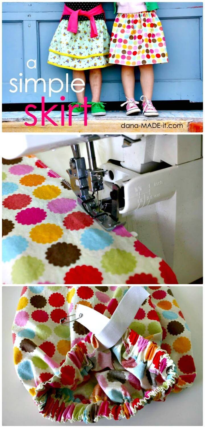 How To Sew Skirt For Summer - Gorgeous DIY