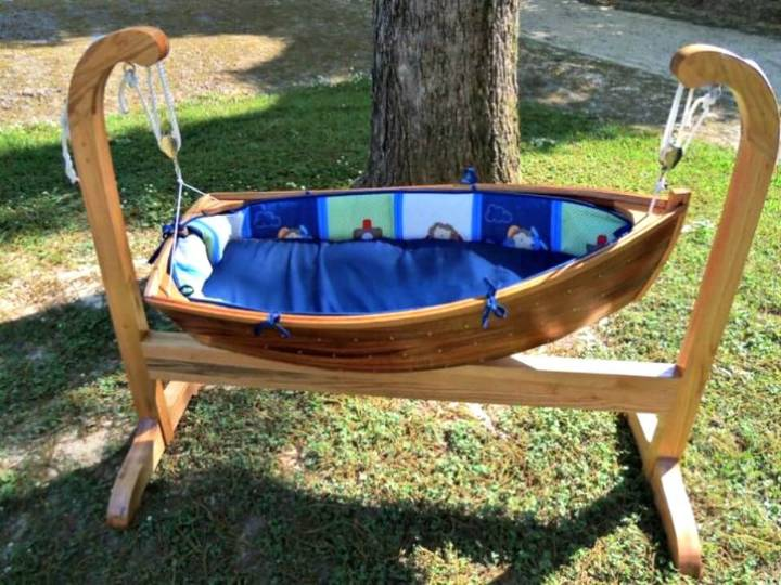 How to Make Your Own Baby Boat Cradle