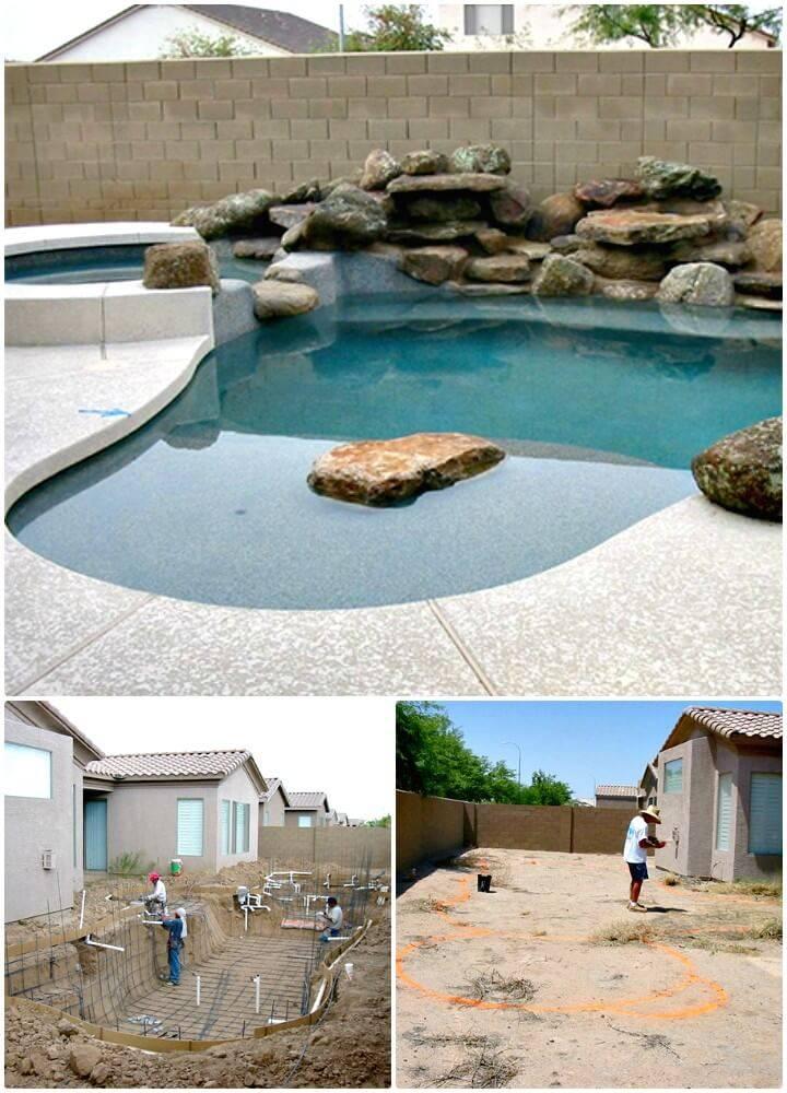 12 Low Budget Diy Swimming Pool Tutorials Diy Crafts