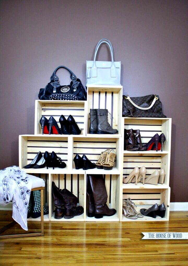 How To Build Shoe Storage Display