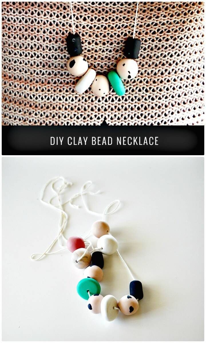 How To Create Clay Bead Necklace - DIY