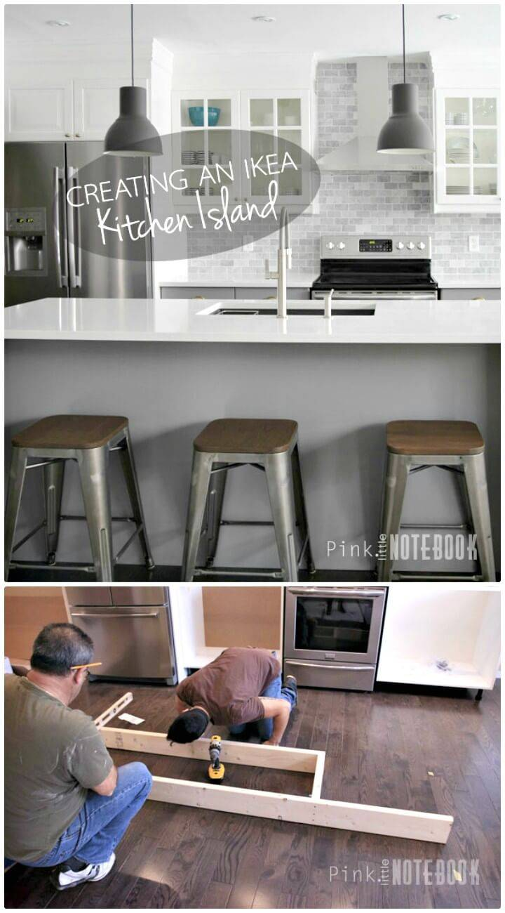 Easy How To Creating an IKEA Kitchen Island