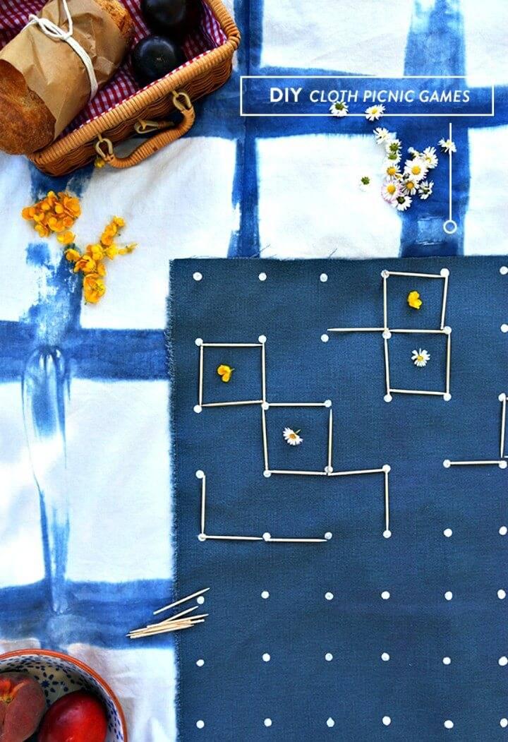 How to Make Cloth Picnic Games - DIY