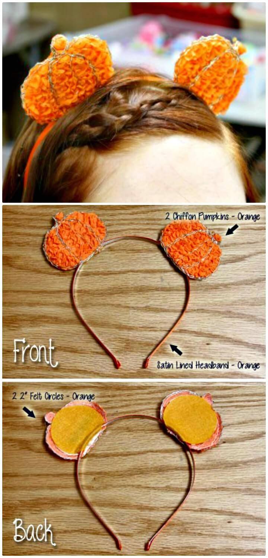 How To DIY Halloween Headband