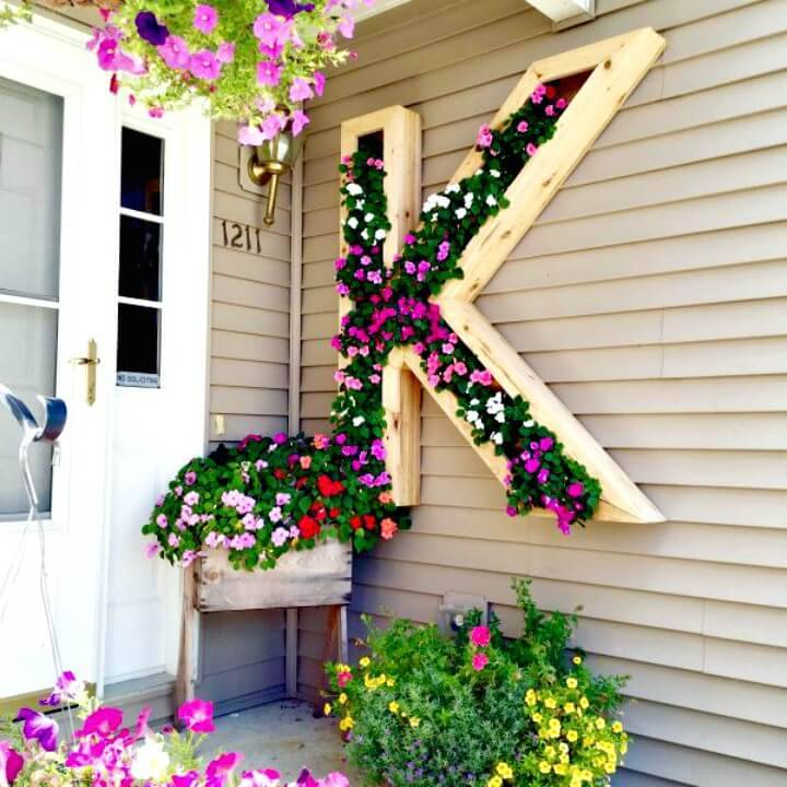 DIY Monogram Planter Step By Step Tutorial - Try Out This Spring & Summer
