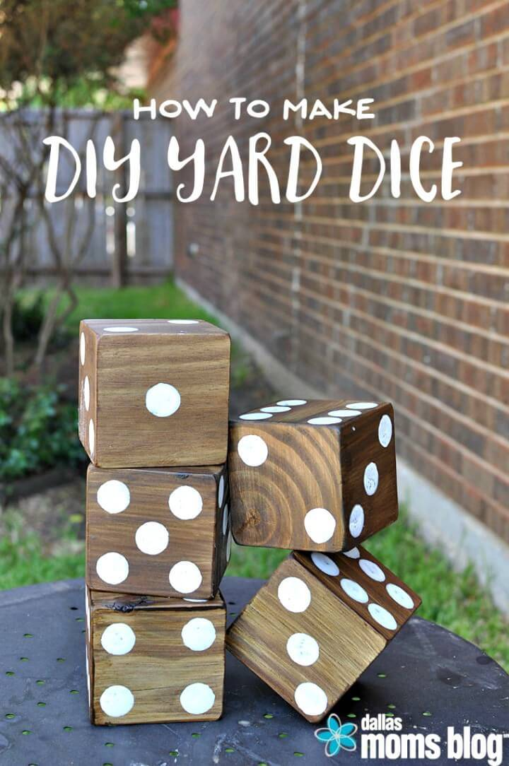 How To Make Giant Summer Backyard Games - DIY