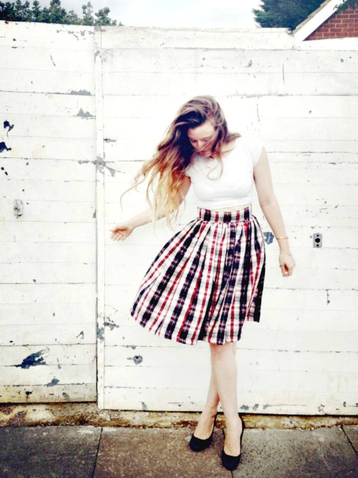 How To Make Gathered Skirt